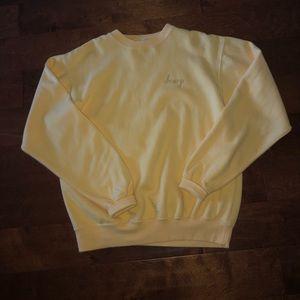 "Brandy Melville ""honey"" sweatshirt"